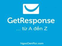 Hướng dẫn sử dụng GetResponse toàn tập